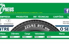 Servipneus disponibiliza venda online de pneus