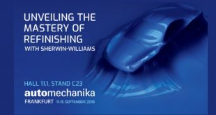 "Sherwin-Williams e Valspar ""juntas"" na Automechanika"