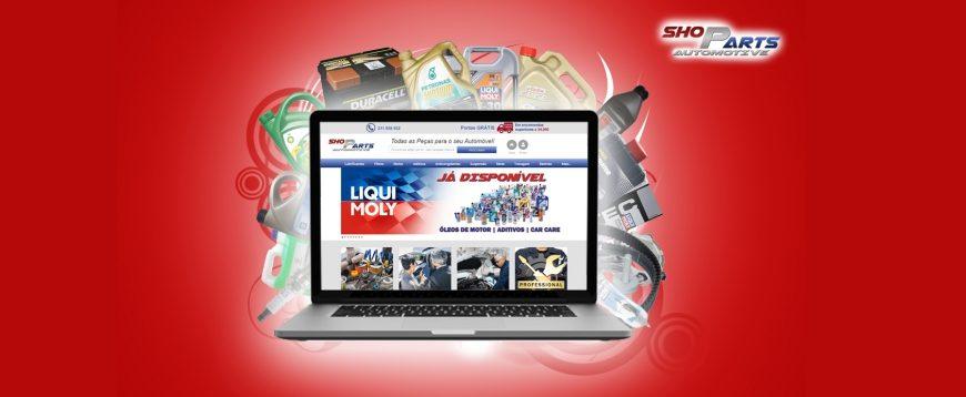 Nova loja online ShoParts Automotive