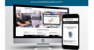 Iberequipe apresenta novo site