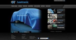 Leatronic apresenta novo site e loja online