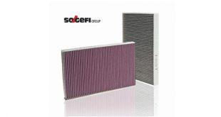 Sogefi apresenta nova geração de filtros de habitáculo Cabin3Tech+