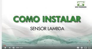 Sabe como instalar um sensor lambda? (Video técnico)