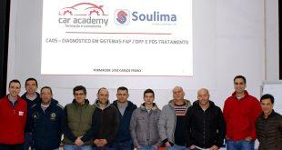Soulima iniciou o seu plano de formações com a Car Academy