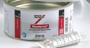 Spies Hecker apresenta novo Raderal Betume para plásticos