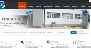 Stand Asla lança website