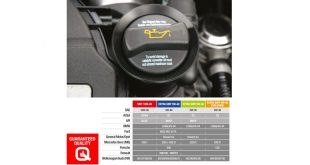 Fórmula inovadora dos lubrificantes Open Parts