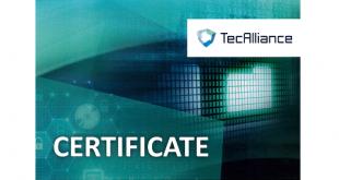 Turborail certificada pela TecAlliance