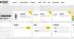 Tecneco Filters com novo catálogo online