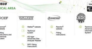 Marcas da Tenneco são fornecedoras classe A de dados TecDoc