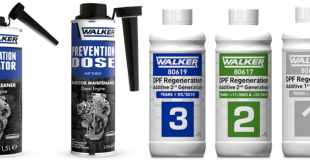 Tenneco lança gama de aditivos Walker para ligeiros a diesel