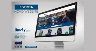 TIPS 4Y acaba de lançar novo website
