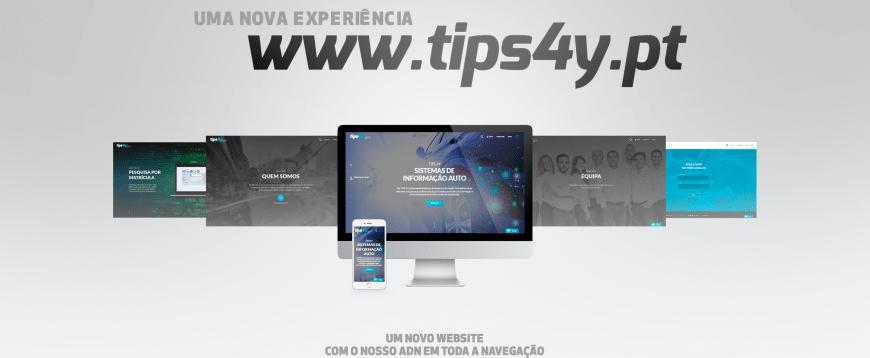 TIPS 4Y lança uma nova experiência de Website