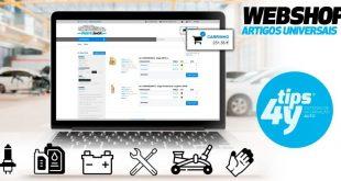 TIPS 4Y lança Webshop para os clientes comercializarem lubrificantes, baterias e pneus