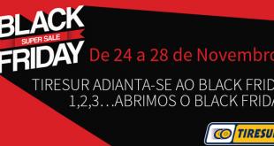 Black Friday chega pela Tiresur aos pneus