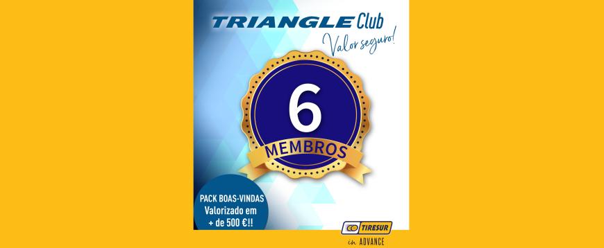 Triangle Club da Tiresur conta já com seis membros em Portugal