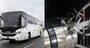 Scania lança primeiro autocarro de longo curso movido a combustíveis alternativos