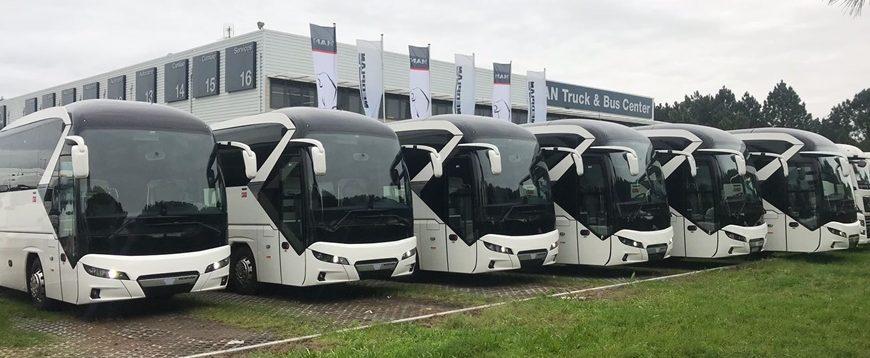 Primeiros Neoplan Tourliner entregues ao Grupo Barraqueiro