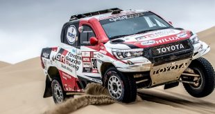 Eurol patrocina Toyota Gazoo Racing no Dakar