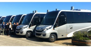 Transdev adquire 6 miniautocarros à CaetanoBus