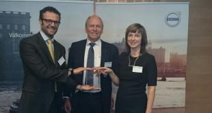 TRW recebe prémio da Volvo
