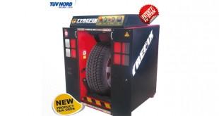 """""""Simulador de estrada para teste de pneus"""" na Altaroda"""