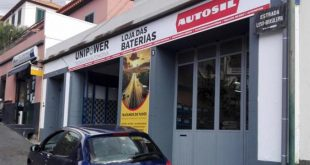 Unipower abre loja de baterias no Funchal, Madeira