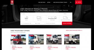 Veículos usados da Renault Trucks já estão online