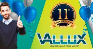Vallux faz 11 anos