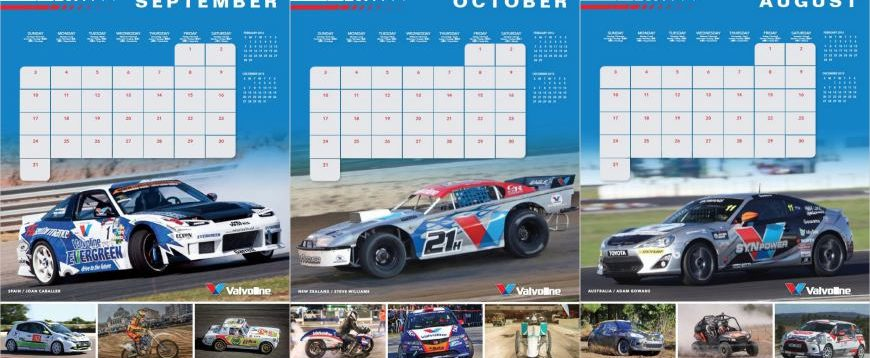 Valvoline apresenta calendário desportivo 2017