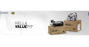 Vicauto alarga oferta de motores de arranque e alternadores Hella Value Fit