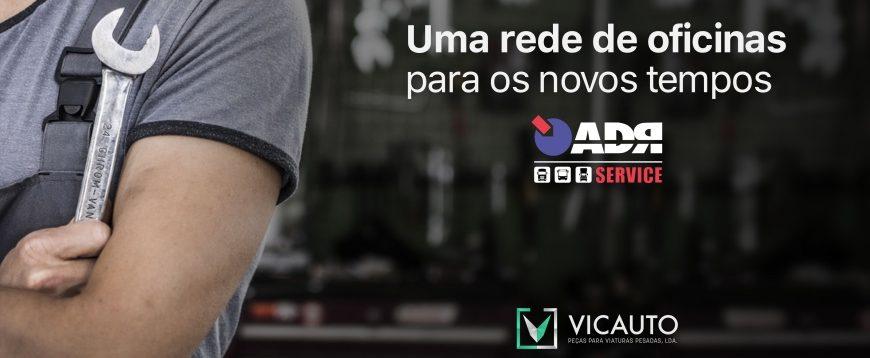 ADR Service é  nova rede oficinas de pesados que a Vicauto vai dinamizar em Portugal