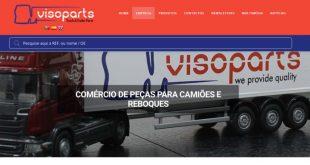 Visoparts apresenta o seu novo website