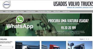 Auto Sueco Portugal lança serviço WhatsApp para camiões usados Volvo