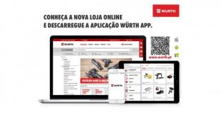 Würth Portugal lança nova loja online e nova APP