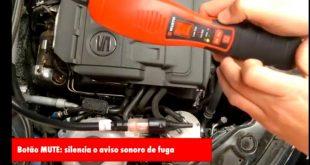 Funcionamento do detetor de fugas eletrónico para gases de refrigeração e ar condicionado (Video)
